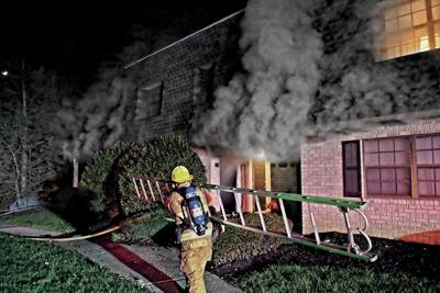 Kensington Club Apartment fire 112020