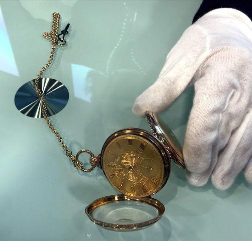 Dr Lori - gold watch