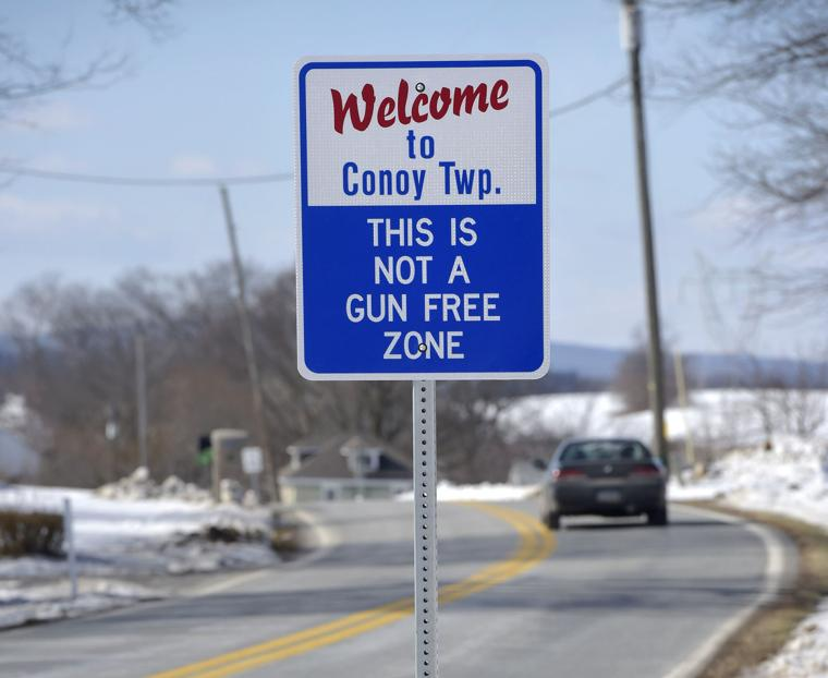 New Conoy Township Signs Read This Is Not A Gun Free Zone