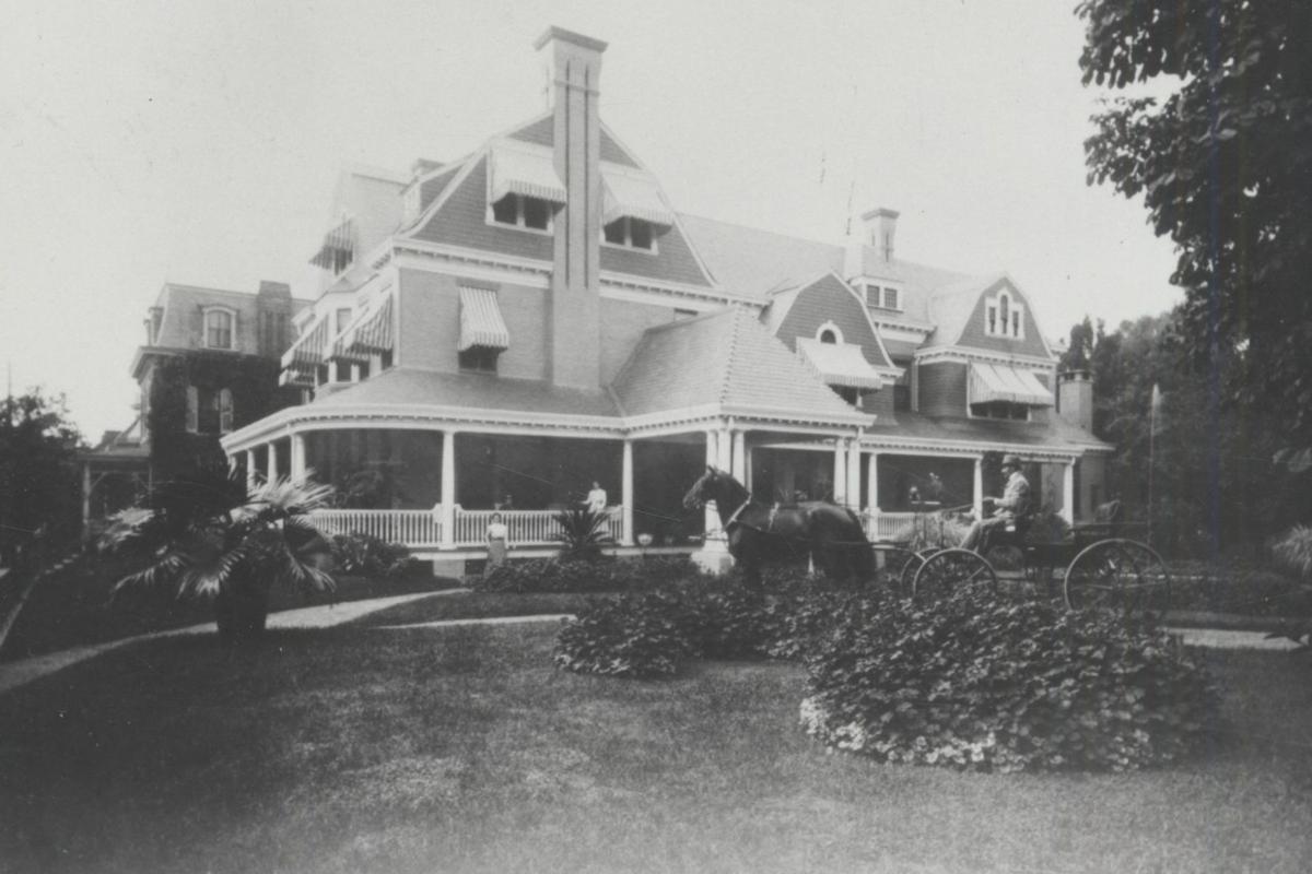 Milton Hershey Residence 222 S Queen Street Lancaster 1890 Hershey Archives.jpg