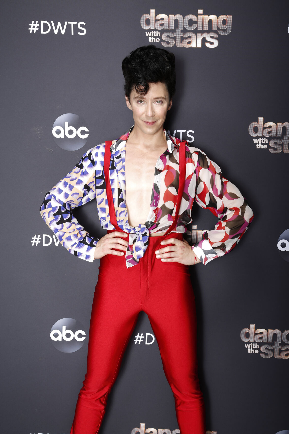 Johnny Weir DWTS contemporary night 4