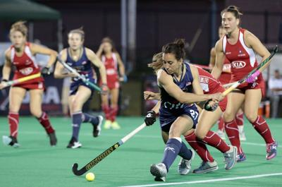 USA vs Chile-Field Hockey