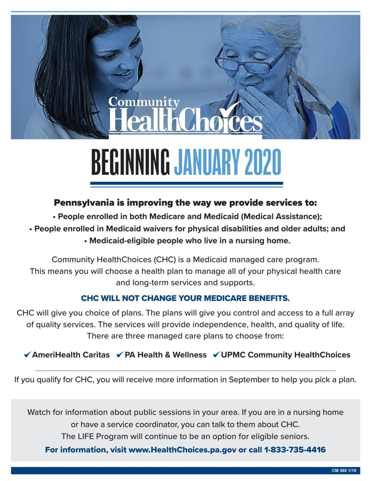 CHC introductory flyer