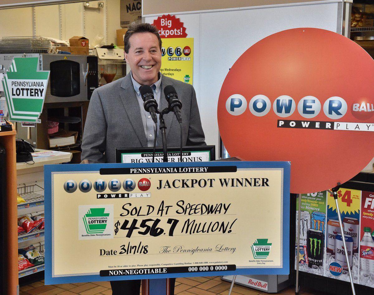 Single winning $456 7 million Powerball ticket sold at