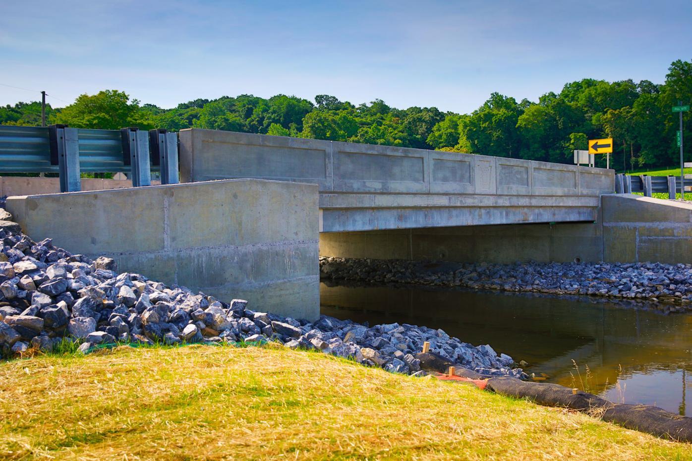 Shirktown Road bridge in Caernarvon Township
