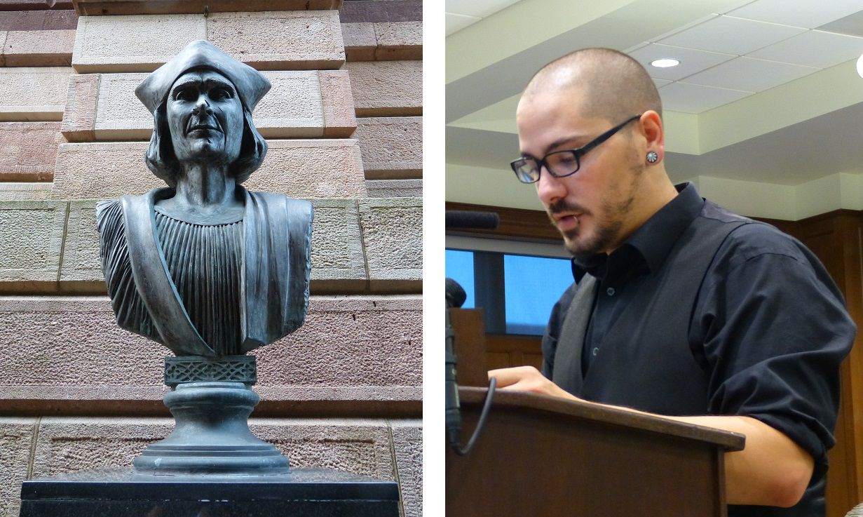 Anonymous Vandal Smashes Christopher Columbus Statue in Baltimore