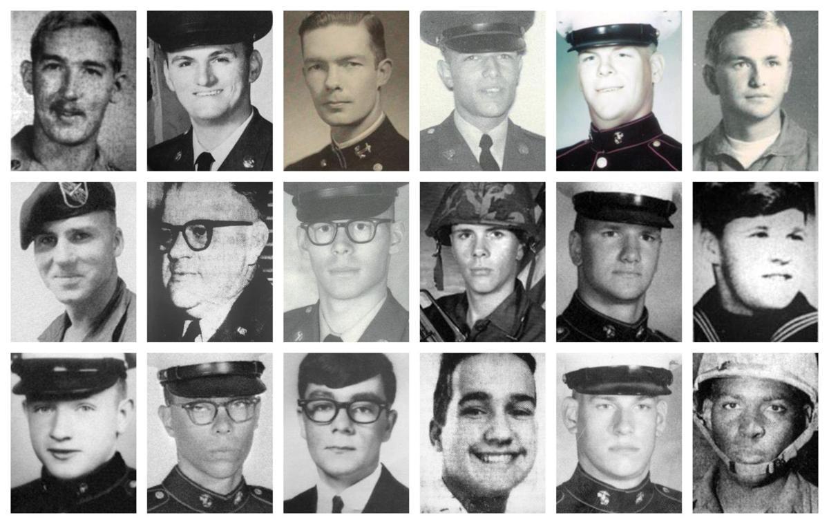 These 18 McCaskey grads were killed in Vietnam
