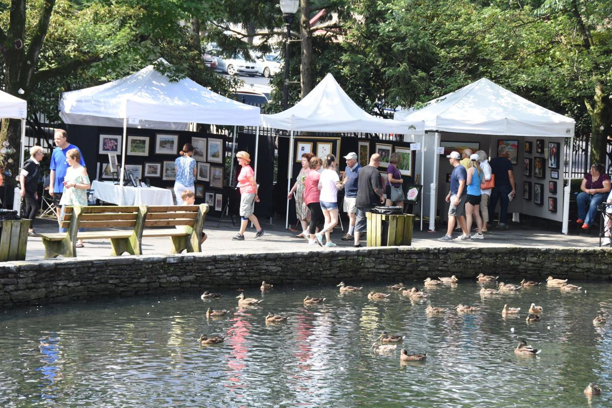 u25 lititz outdoor art show By the pond.JPG
