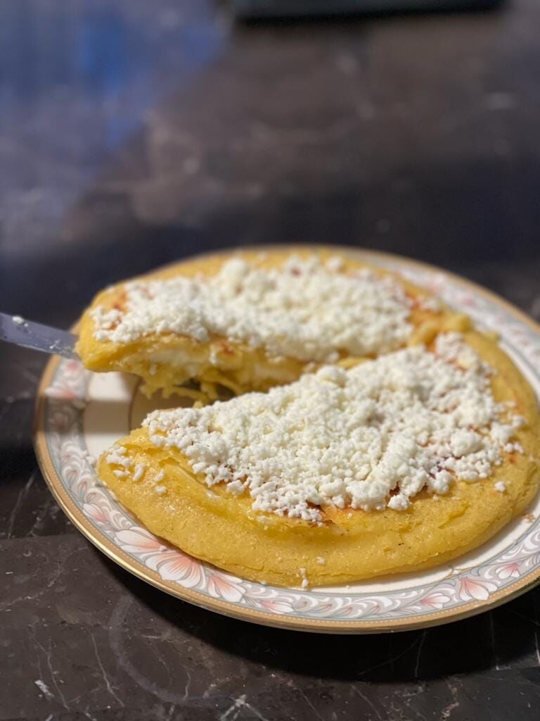 Arepa stuffed with cheese.jpg