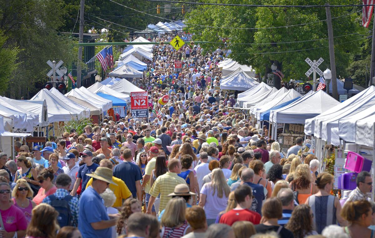 lititz craft show a beautiful day possibly a record