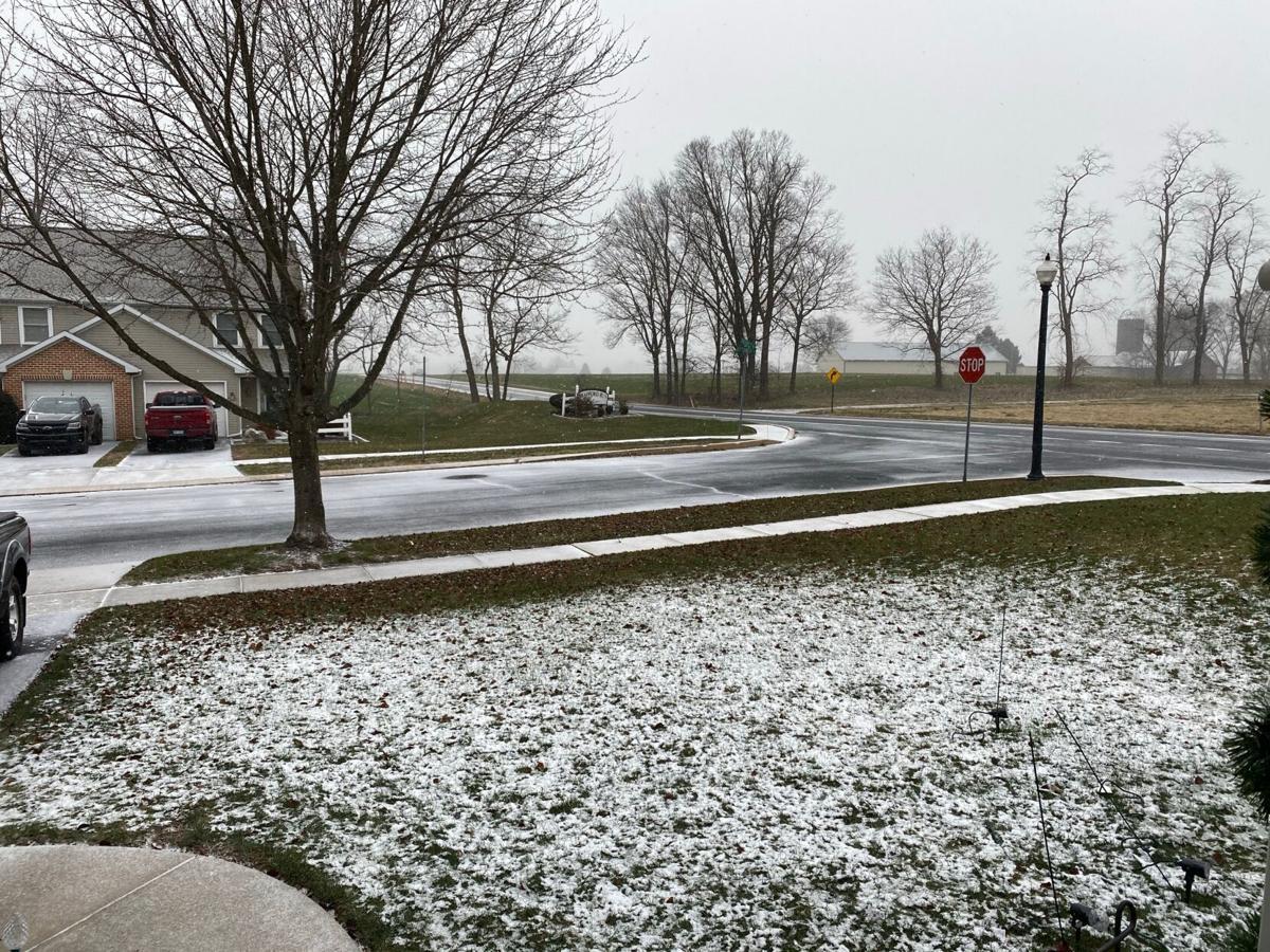 Snow begins in East Hempfield