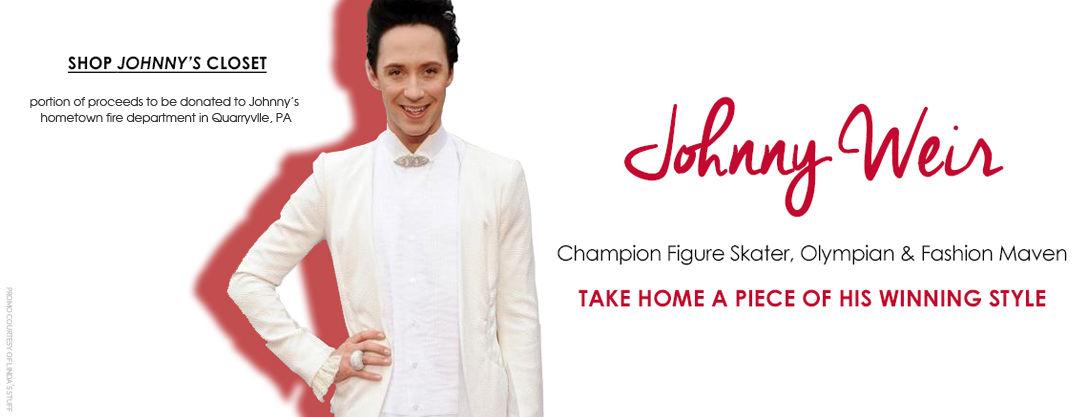 Johnny Weir wardrobe selloff