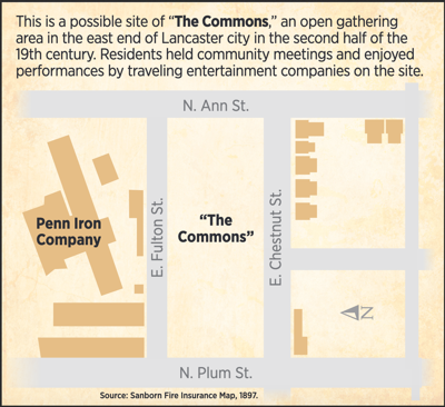 Commons map