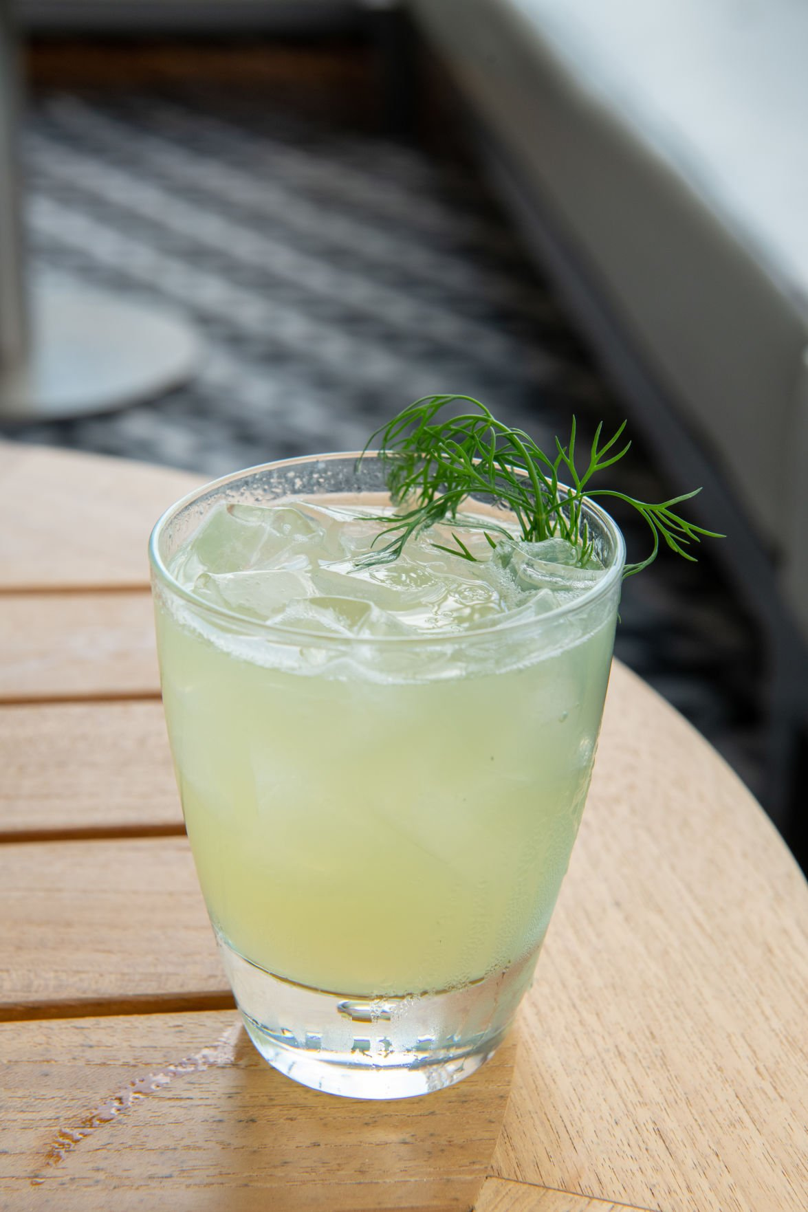Licensed to Dill cocktail