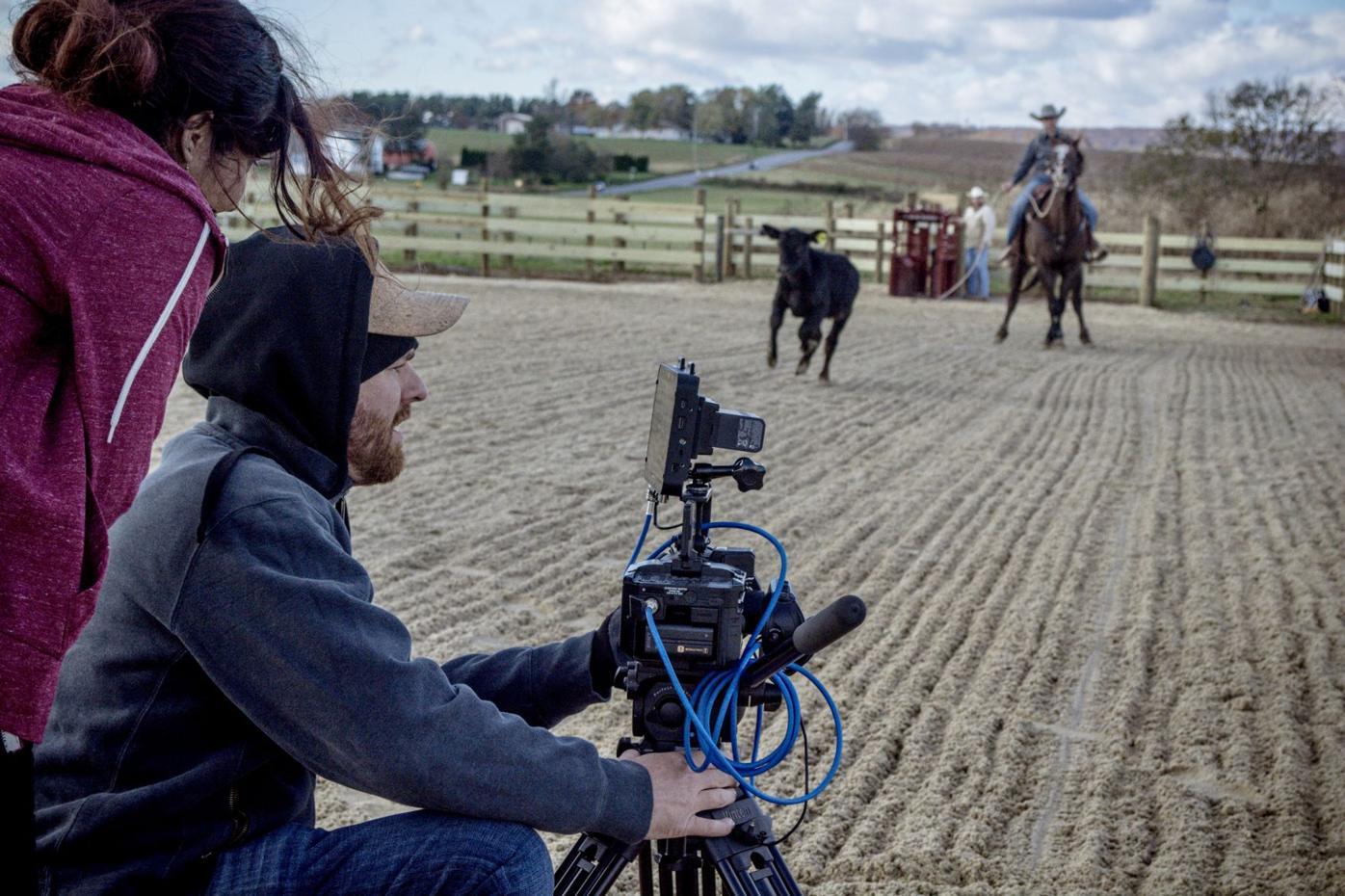 """Behind the scenes of """"Calf Rope"""""""