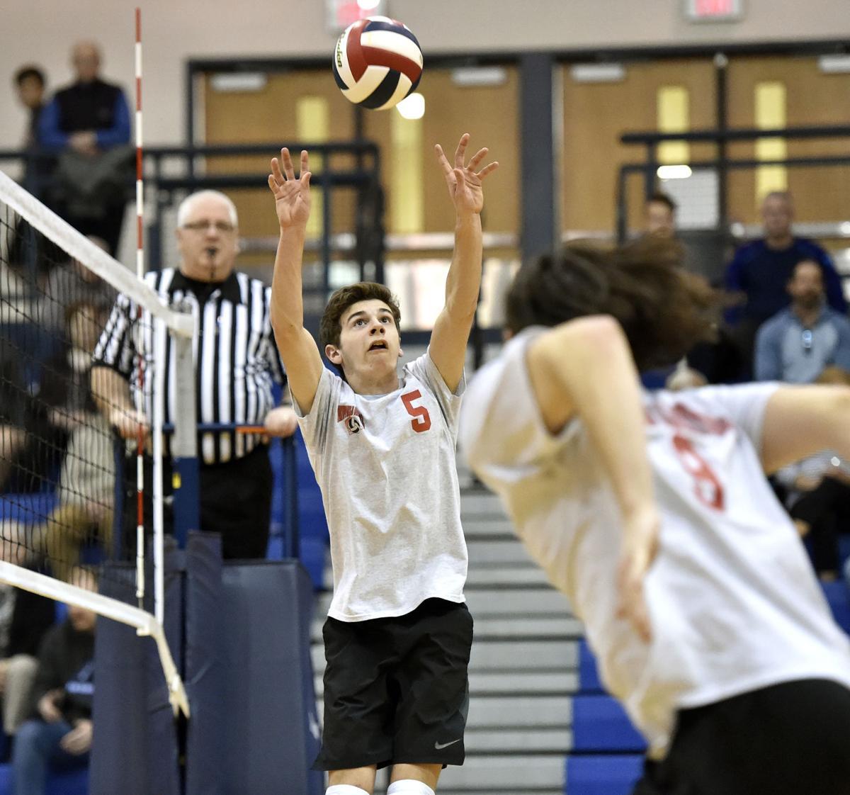 Manheim Twp. vs Hempfield-LL Boys Volleyball