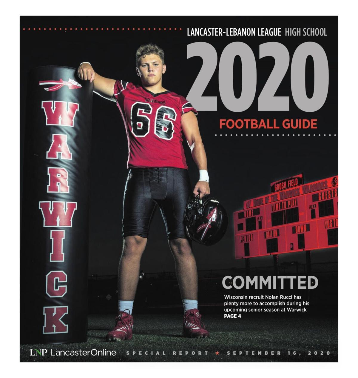 Lancaster-Lebanon League High School Football Guide 2020