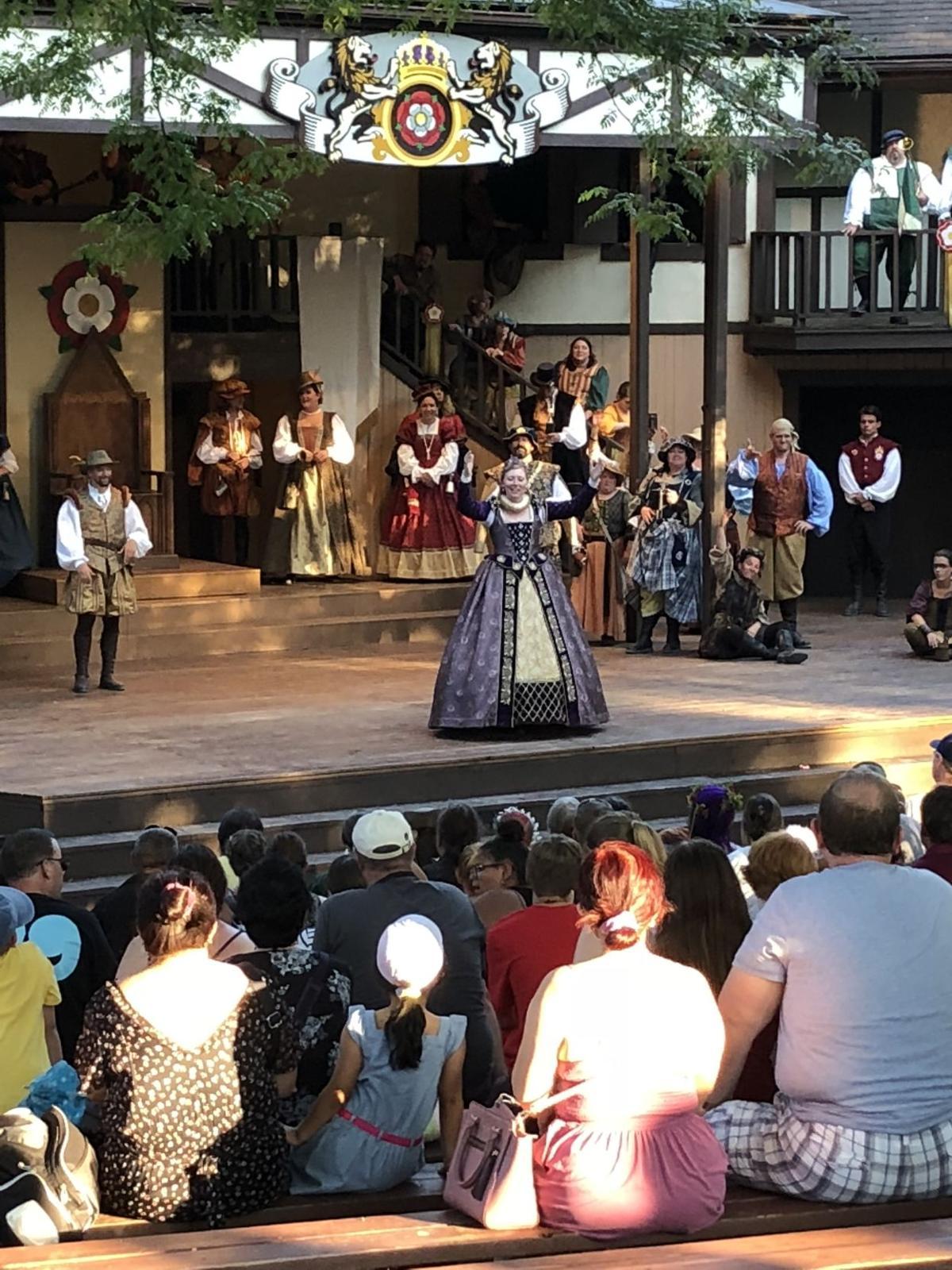 Queen Elizabeth at the Renaissance Faire