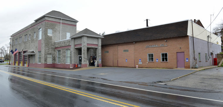 Columbia fire station, site of proposed state call center