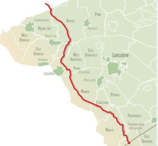 Atlantic Sunrise - pipeline map (new)