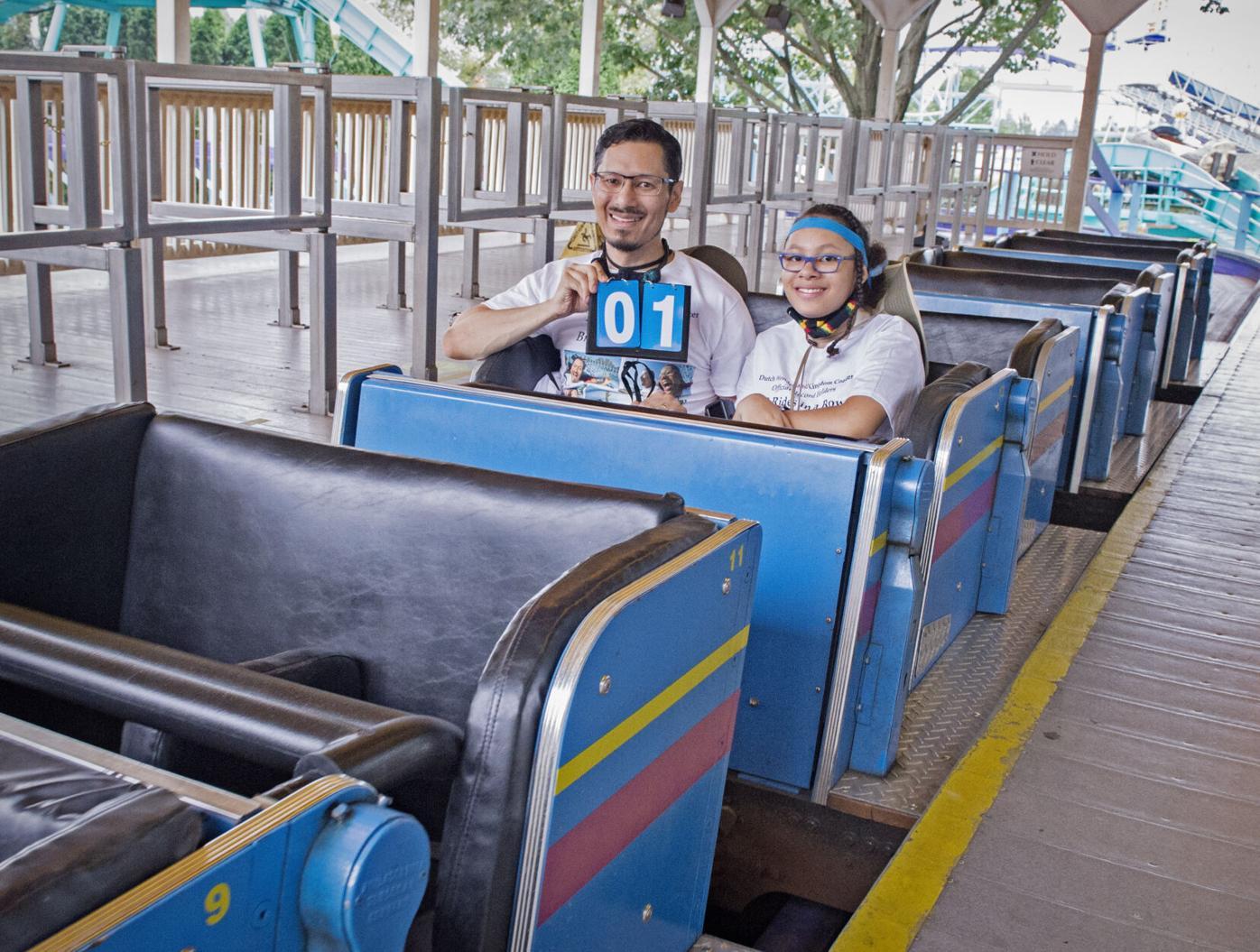 roller coaster record