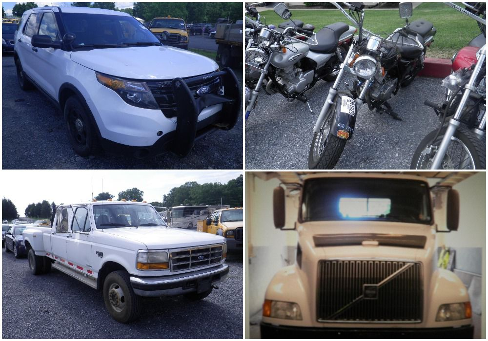 State will sell more than 450 trucks, cars, motorcycles in public ...