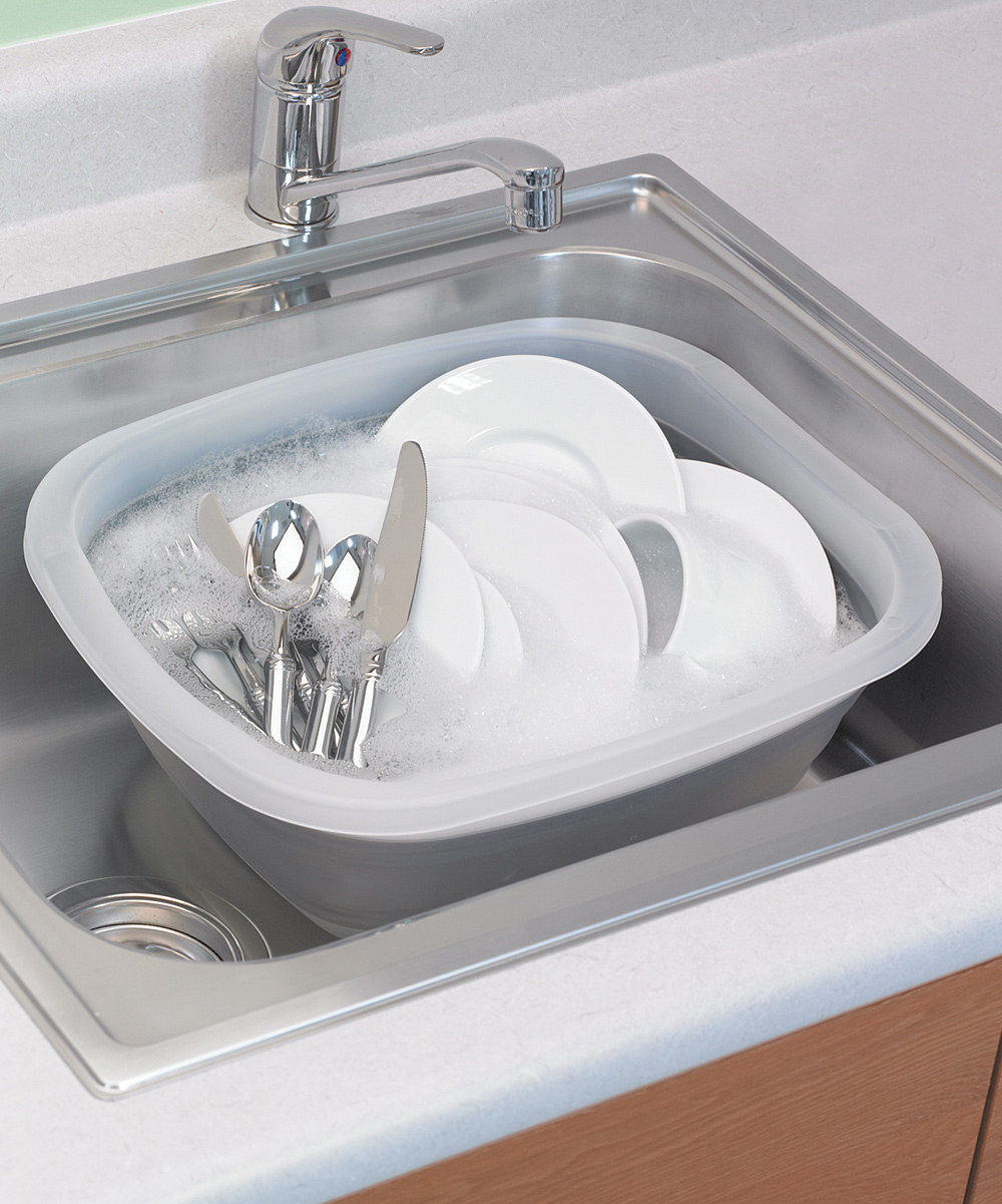 kitchen essential collapsible dish pan food lancasteronline com collapsible dish pan