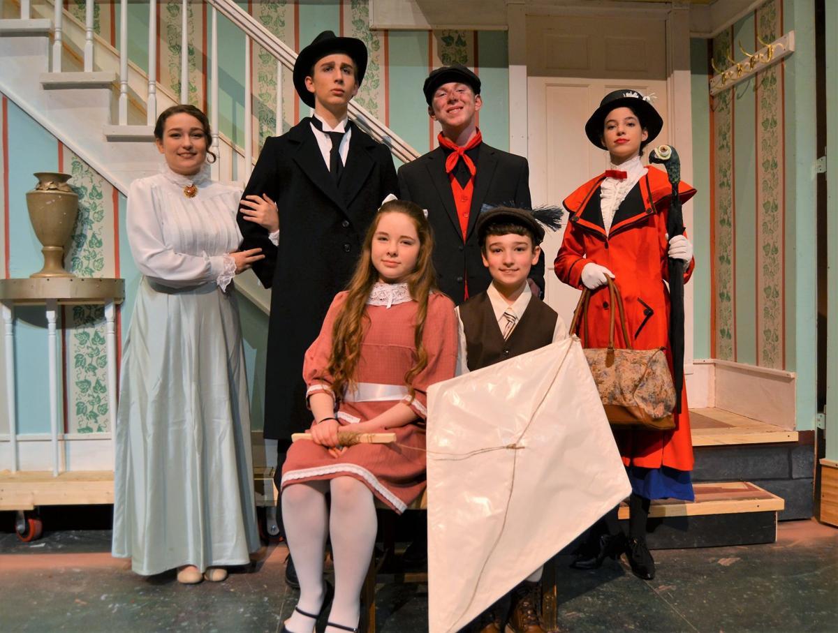 Cast of 'Mary Poppins,' Penn Manor High School