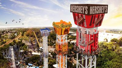 hershey triple tower