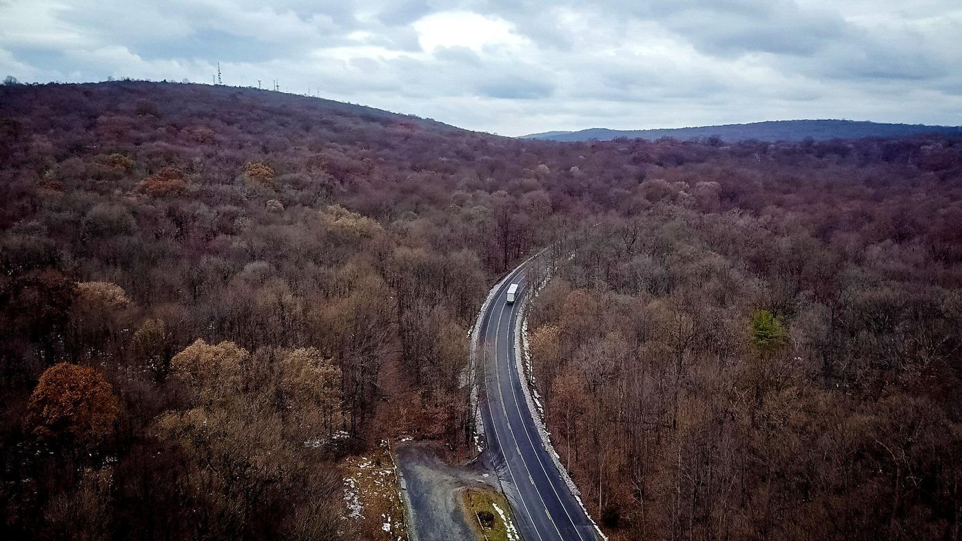 Dangerous Road - Route 322