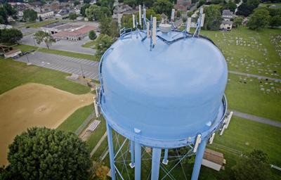 East Petersburg water tower