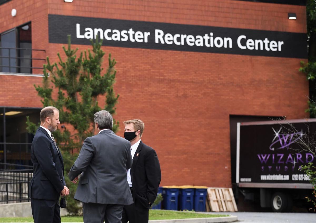Biden visits Lancaster