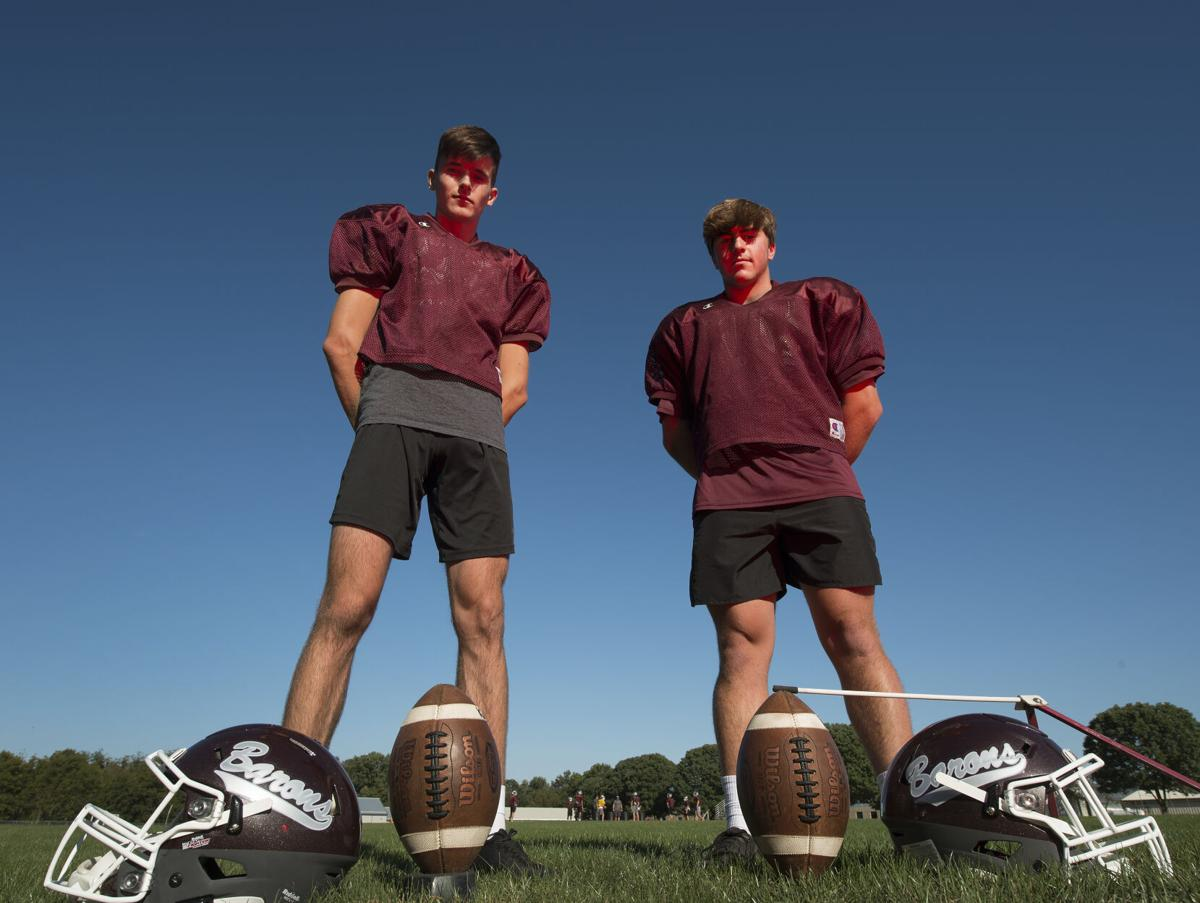 Baron Kickers Nate Reed, and Logan Shull