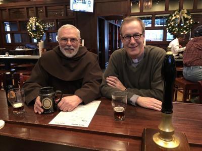 Fr. David Peck and Br. David Rutledge