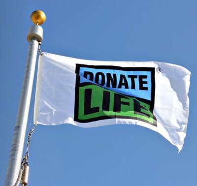 donate life flag lgh