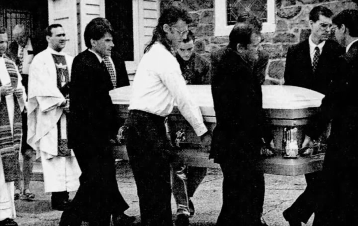 Durgey funeral, 1996