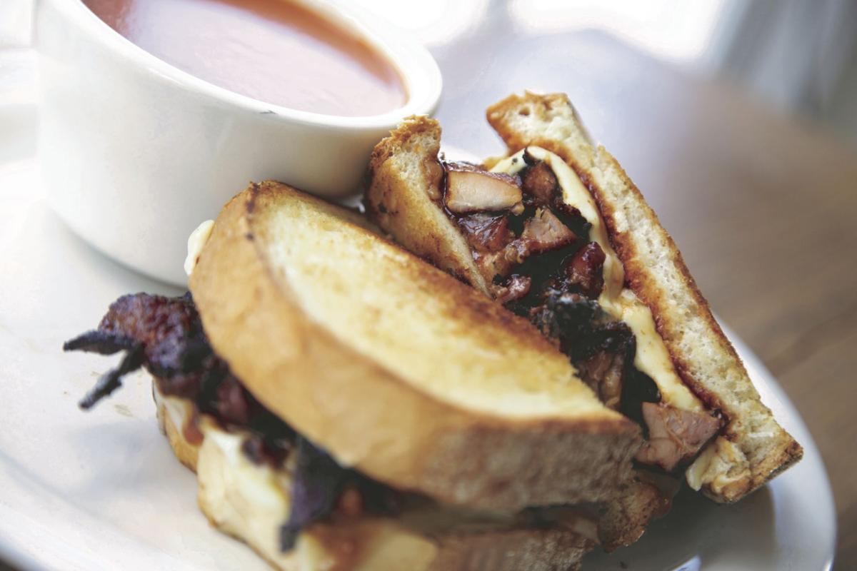 Gracie's on West Main grilled cheese