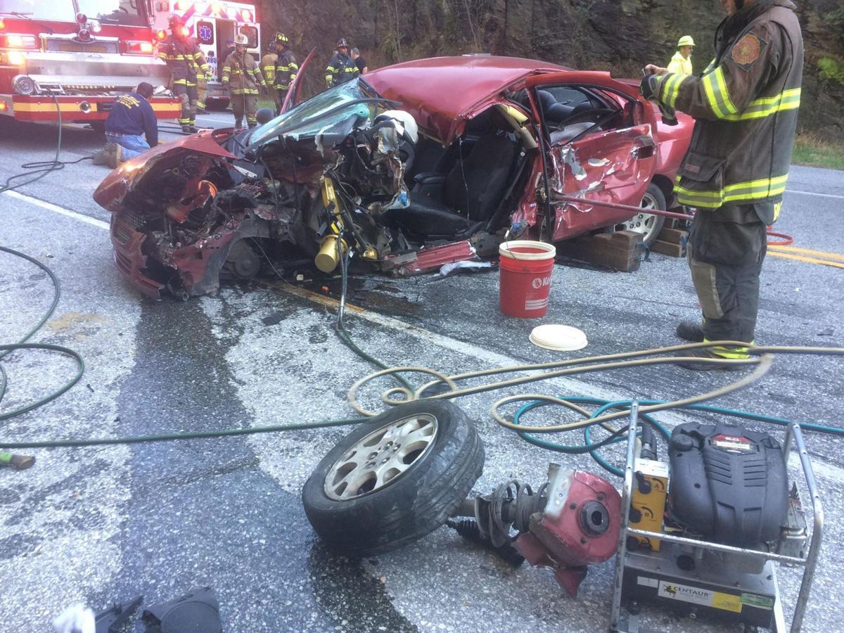 Route 372 crash