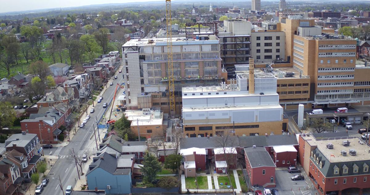Exterior: Lancaster General Hospital Is Now Producing Most Of Its