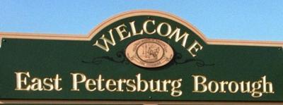 East Petersburg stock photo