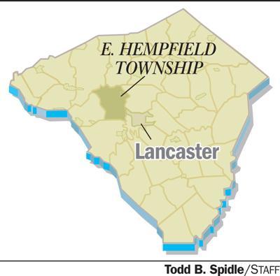 East Hempfield Township map