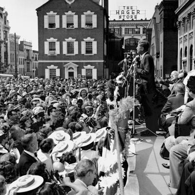John F. Kennedy comes to Lancaster