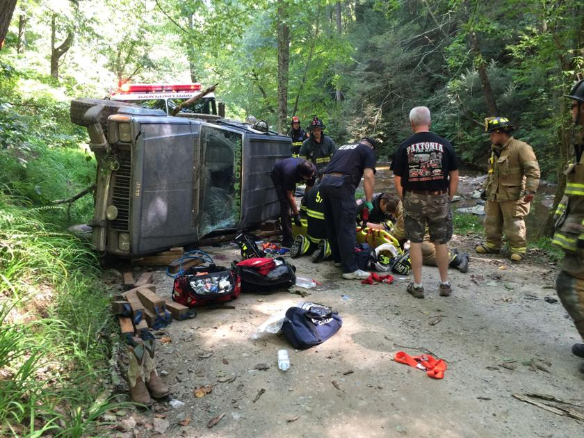 2 teens injured when Jeep overturns in Drumore Twp.