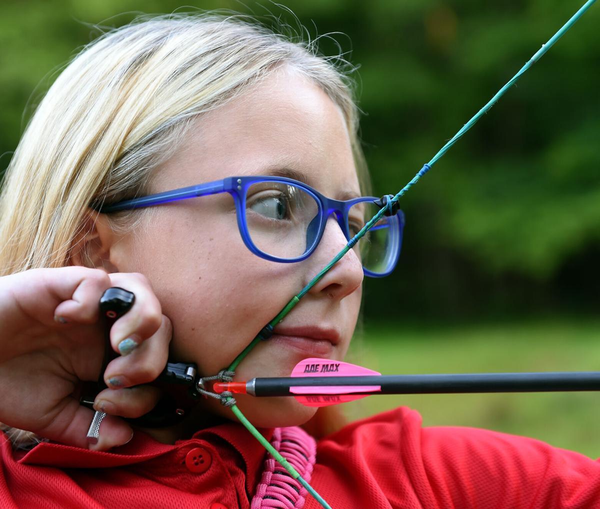Alivia Slusser, 11, Archery