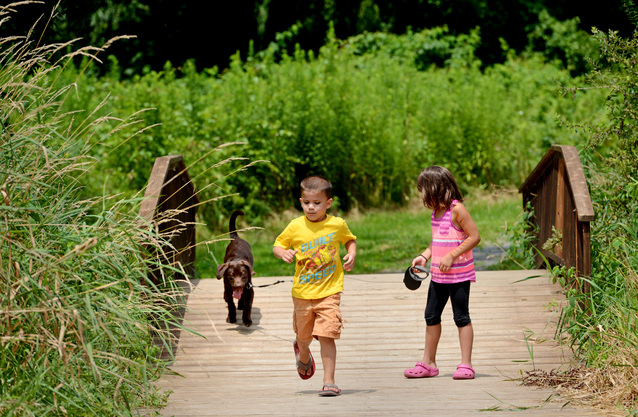 Farmingdale Trail offers a great getaway close to home
