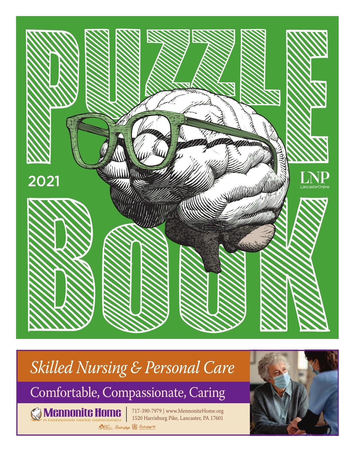 Puzzle Book 2021