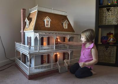The Scribbler 4 Feet Tall Dollhouse Made By Former West Lampeter