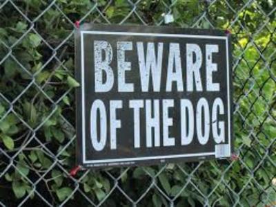 Dangerous dog list