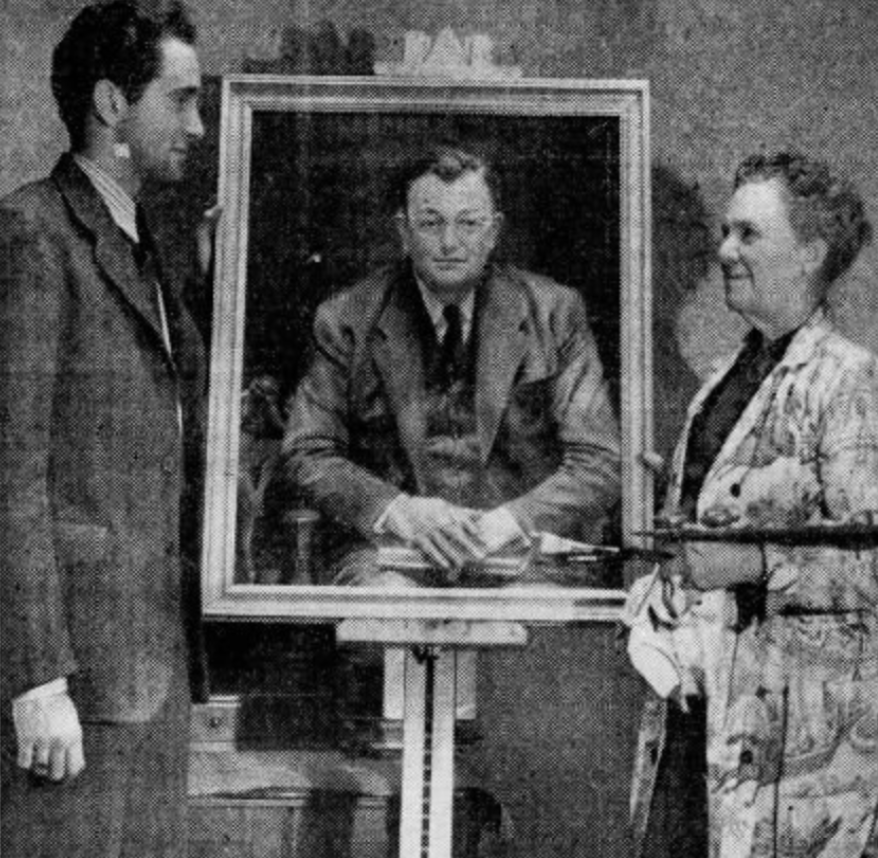 Schaffner painting 1941