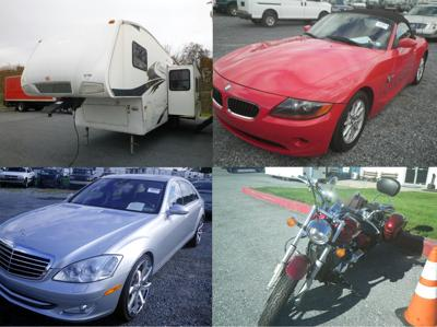 State Auctioning More Than 200 Trucks Cars And Motorcycles To